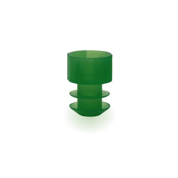 Lamellenstopfen 12mm grün