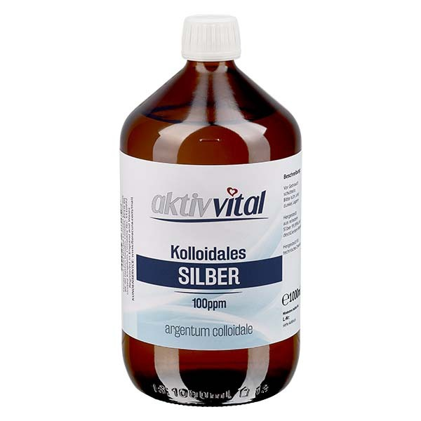 1000ml Kolloidales Silber 100ppm - Aktiv-Vital