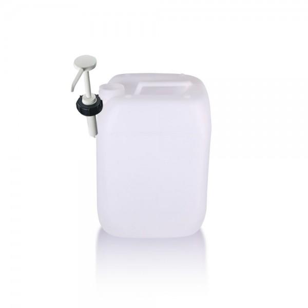 Kunststoff Kanister 10l mit Dosierpumpe