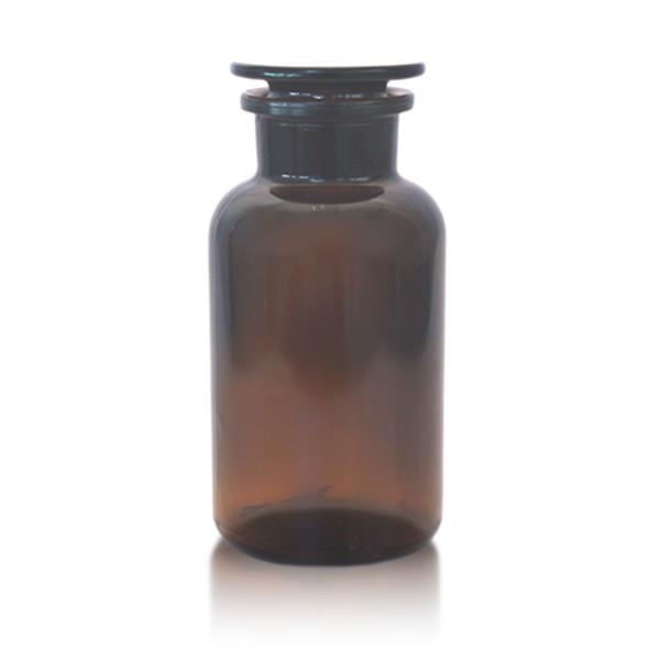 Apothekerflasche 500 ml Weithals braun