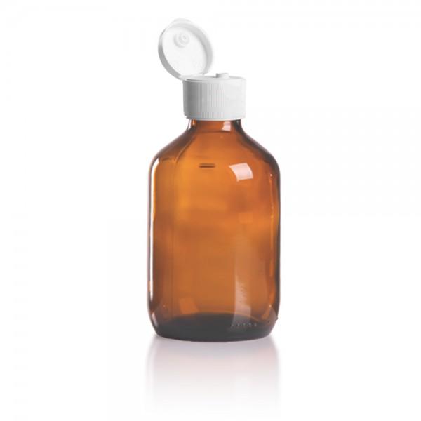 Euro Medizinflasche 200ml + Schraubverschluss
