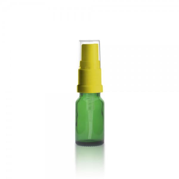 Grüne 10ml Tropfflasche + Pumpverschluss