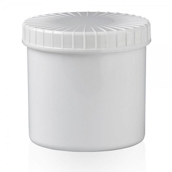Schraubdose 375 ml weiß