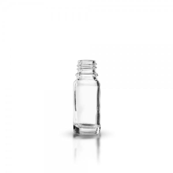 Tropfflasche 10ml Klarglas