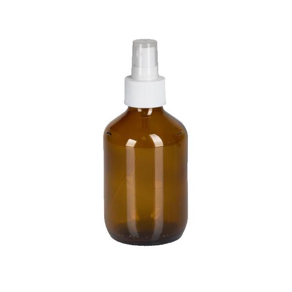 200ml Euro-Medizinflasche mit Zerstäuber weiß