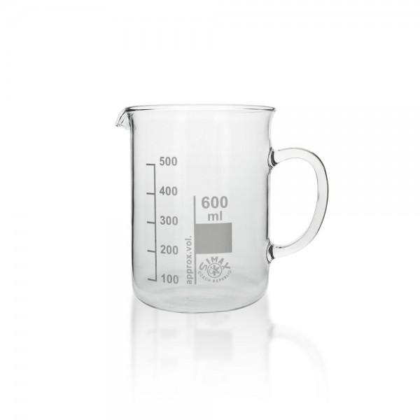Messbecher 600 ml mit Henkel/Griff