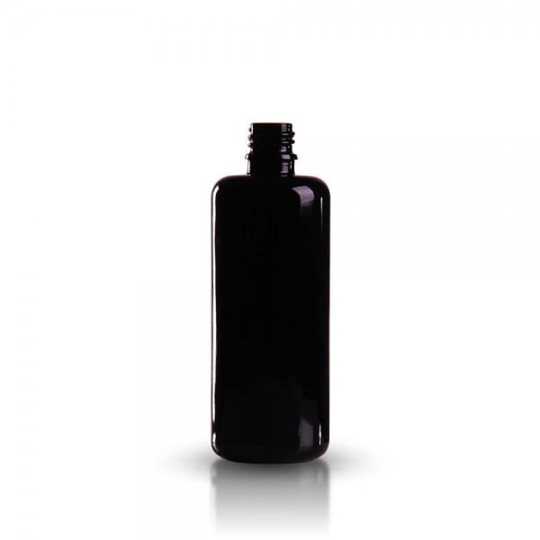 Tropfflasche 100ml Violettglas