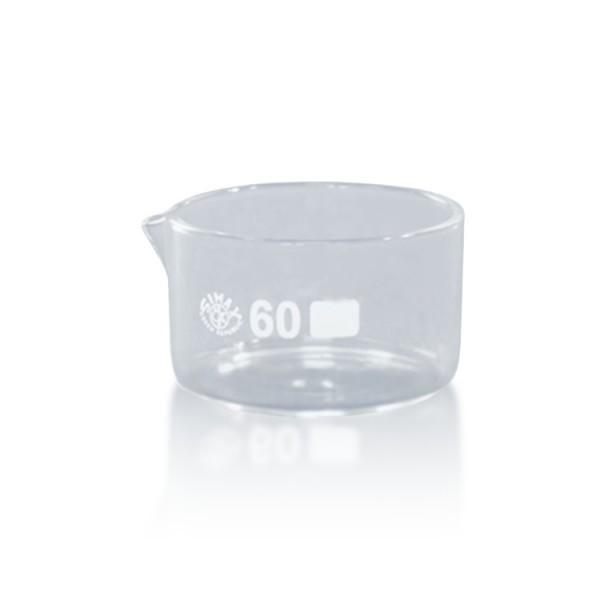 60 ml Kristallisierschale mit Ausguss