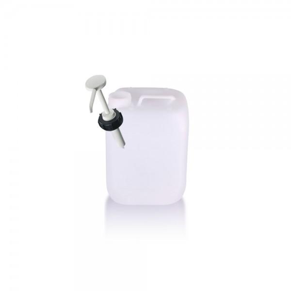 Kunststoff Kanister 5l mit Dosierpumpe