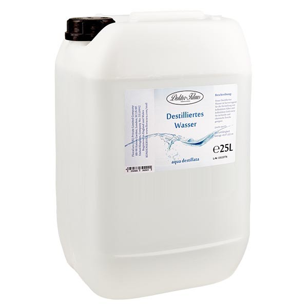 Destilliertes Wasser 25l