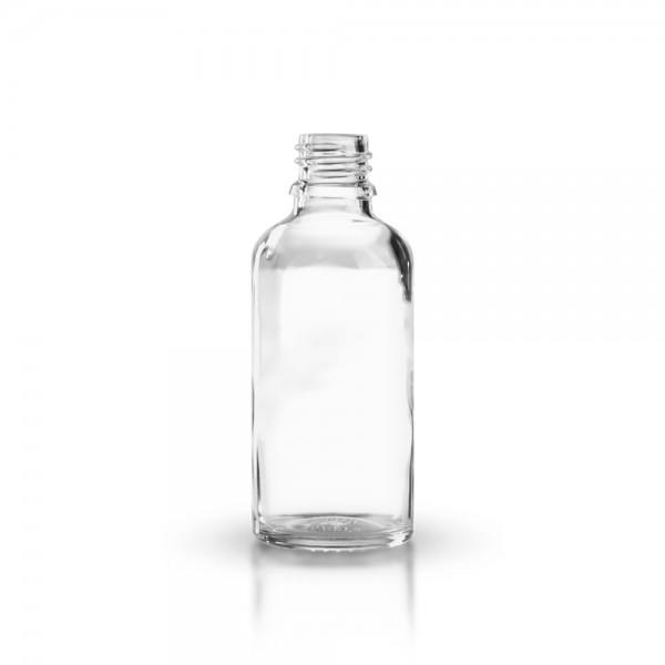 Tropfflasche 50ml Klarglas