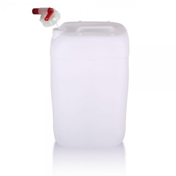 Wasserkanister 25l mit Auslaufhahn