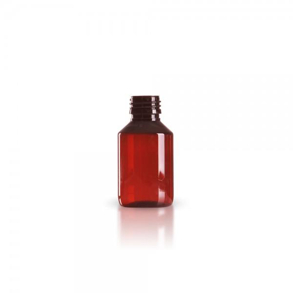 PET Medizinflasche (Sirupflasche) 100ml