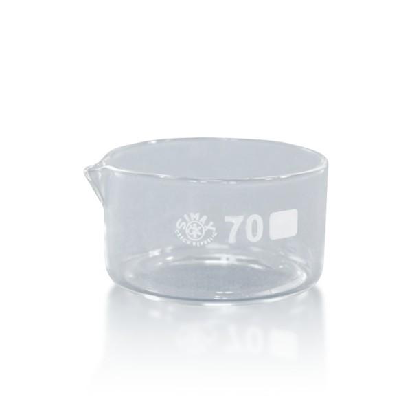100 ml Kristallisierschale mit Ausguss