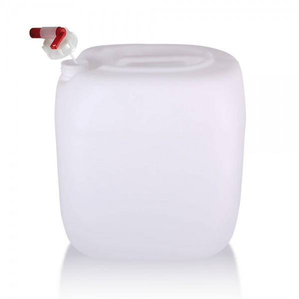 Wasserkanister 30l mit Auslaufhahn