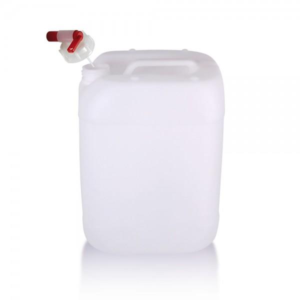 Wasserkanister 20l mit Auslaufhahn