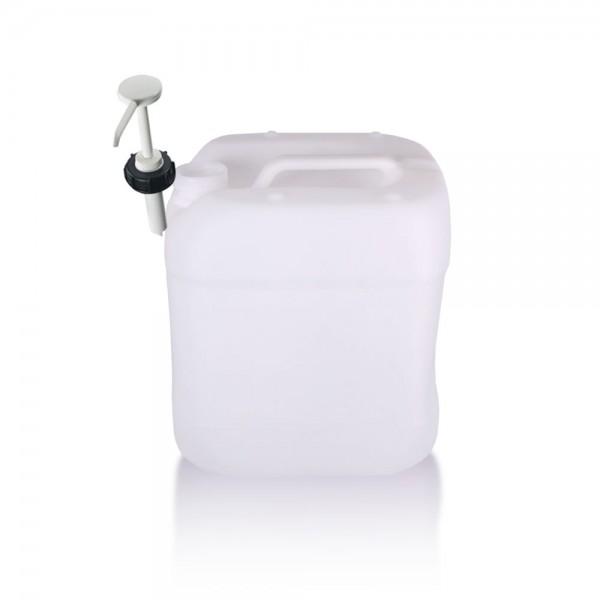Kunststoff Kanister 15l mit Dosierpumpe