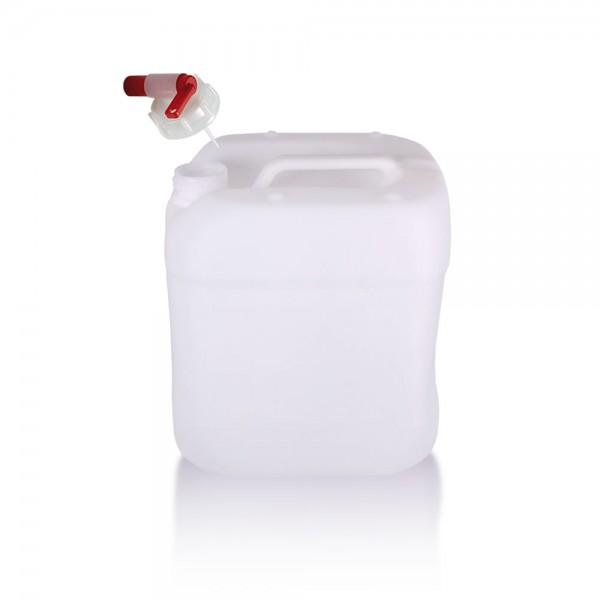 Wasserkanister 15l mit Auslaufhahn