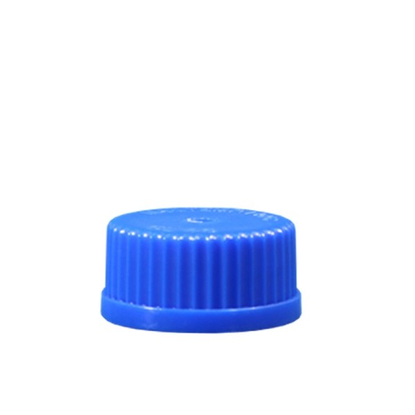 Schraubverschluß GL45 blau