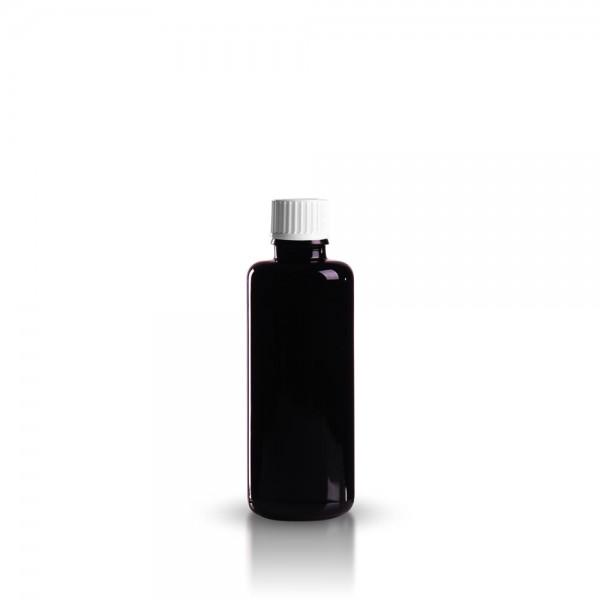 Violette Tropfflasche 50ml + Spezialverschluss