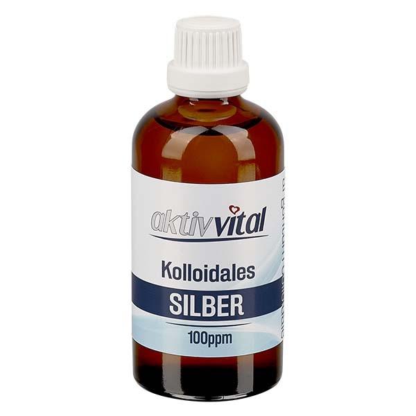 100ml Kolloidales Silber 100ppm von Aktiv-Vital