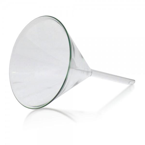 Trichter 100mm aus Borosilikat Glas