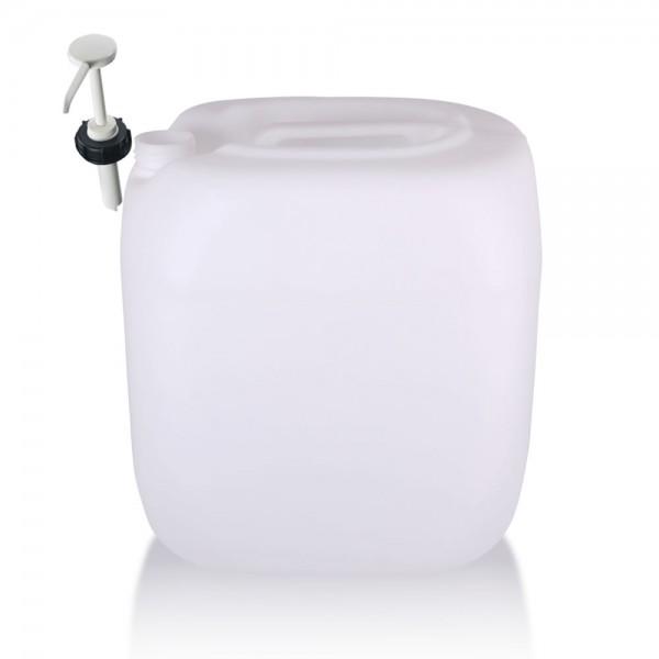 Kunststoff Kanister 30l mit Dosierpumpe