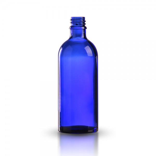 Tropfflasche 100ml Blauglas