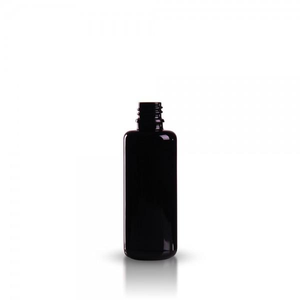 Tropfflasche 50ml Violettglas