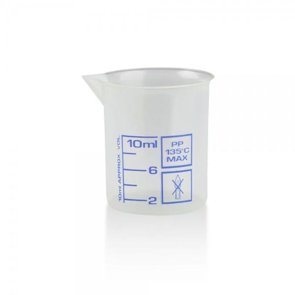 Messbecher 10ml Kunststoff