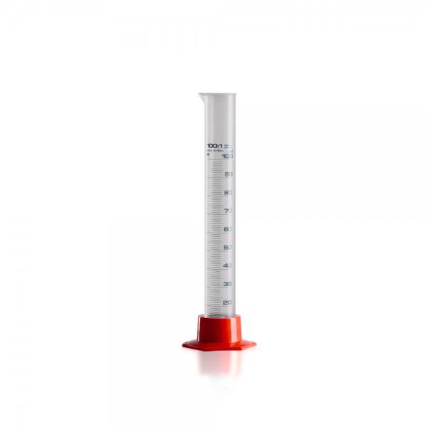 Messzylinder 100ml Kunststoff