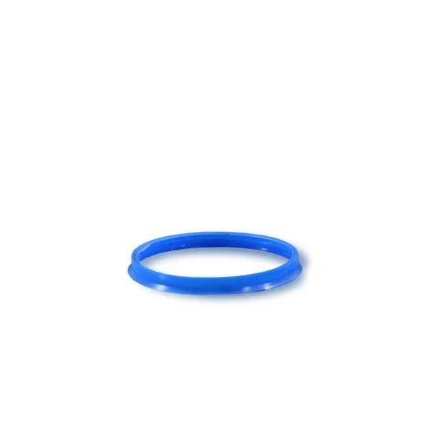 Ausgießring GL45 blau