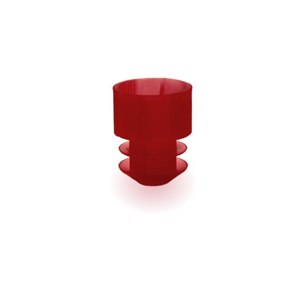 Lamellenstopfen 16mm rot
