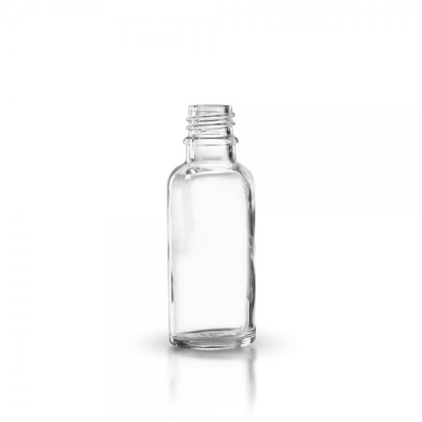 Tropfflasche 30ml Klarglas