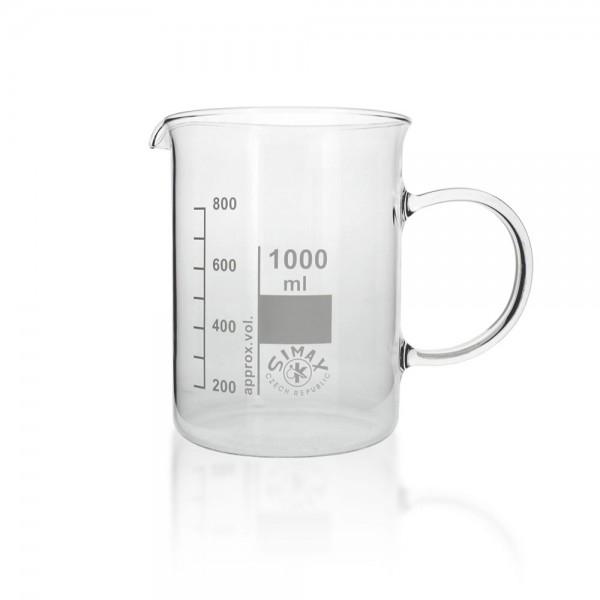Messbecher 1000 ml mit Henkel/Griff