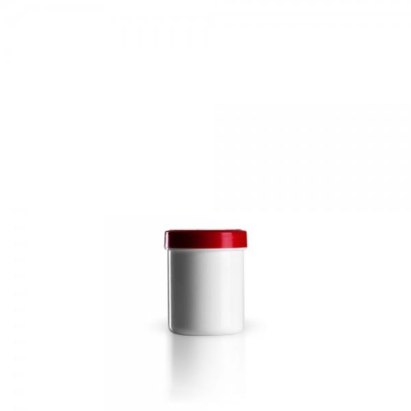 30g - 35ml Salbenkruken mit Deckel rot