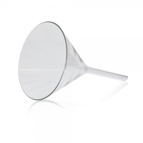 85 mm Trichter 60° Borosilikatglas