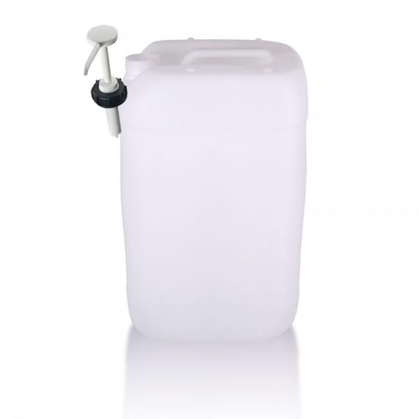 Kunststoff Kanister 25l mit Dosierpumpe