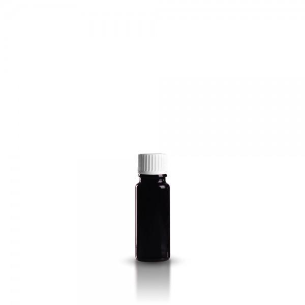 Violette Tropfflasche 10ml + Schraubverschluss
