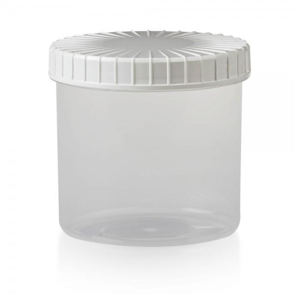Schraubdose 375 ml transparent