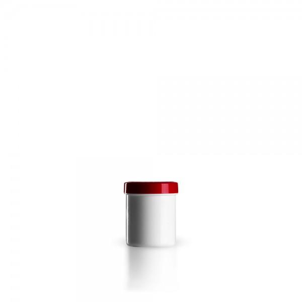 20ml Salbenkruken mit Deckel rot