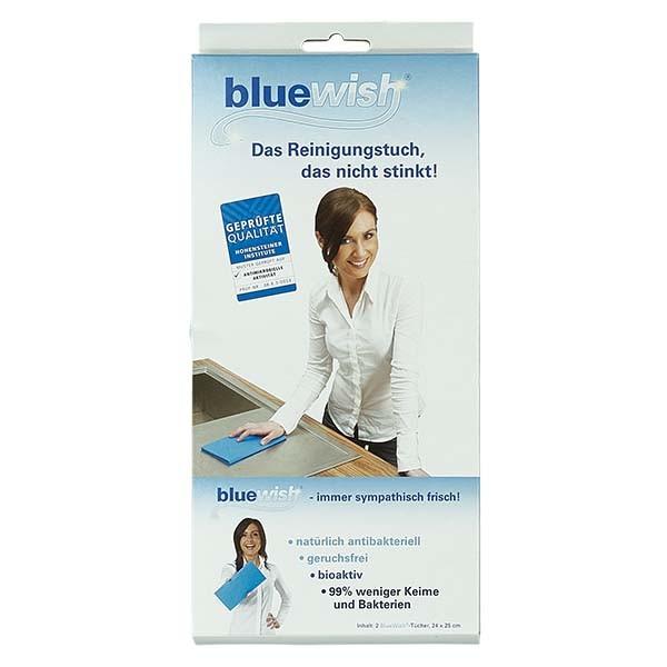 2 Bluewish Reinigungstücher 24x25cm