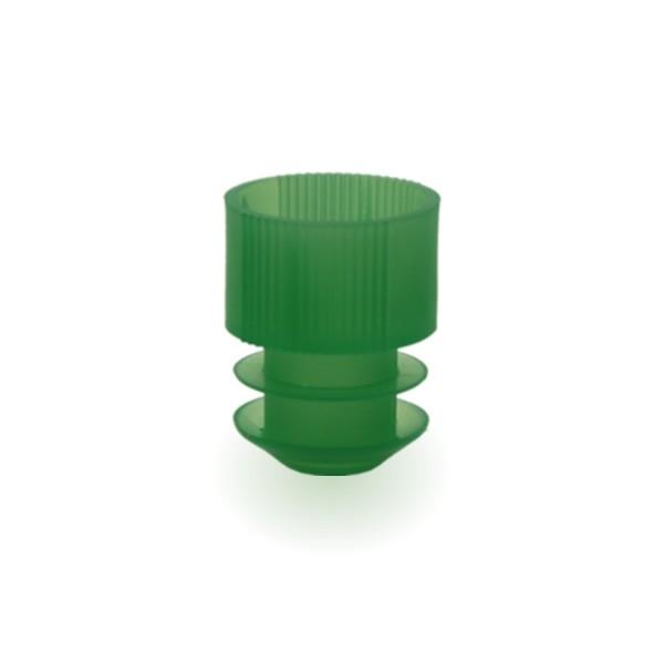 Lamellenstopfen 16mm grün