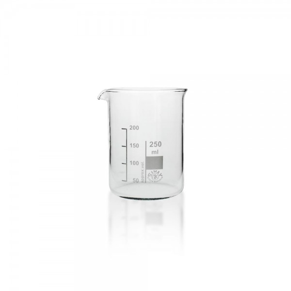 Becherglas 250 ml niedrige Fprm